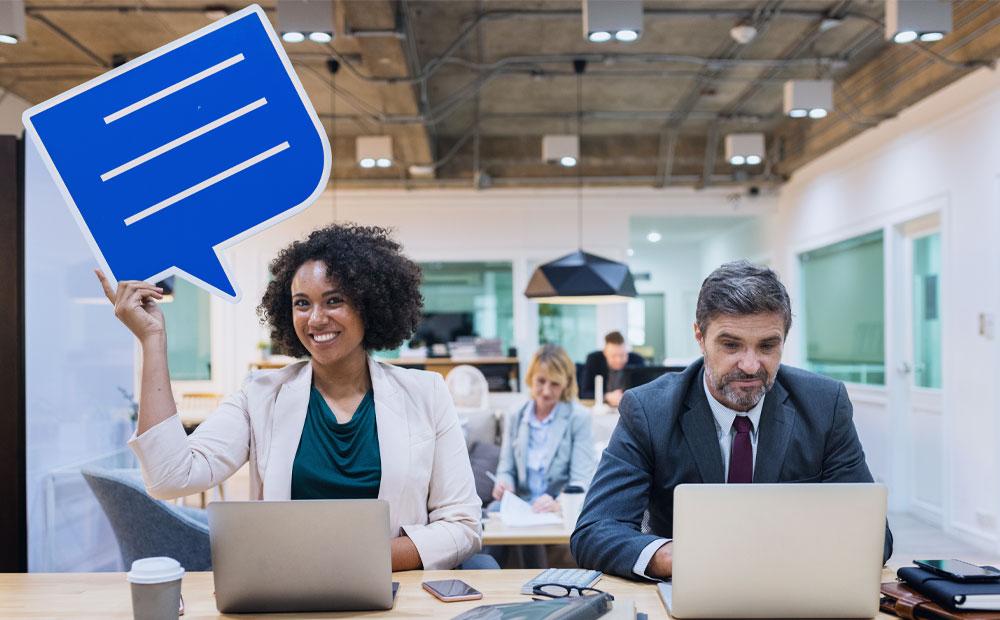 چگونه ارتباط غیرکلامی خود را در محیط کار بهتر کنیم؟