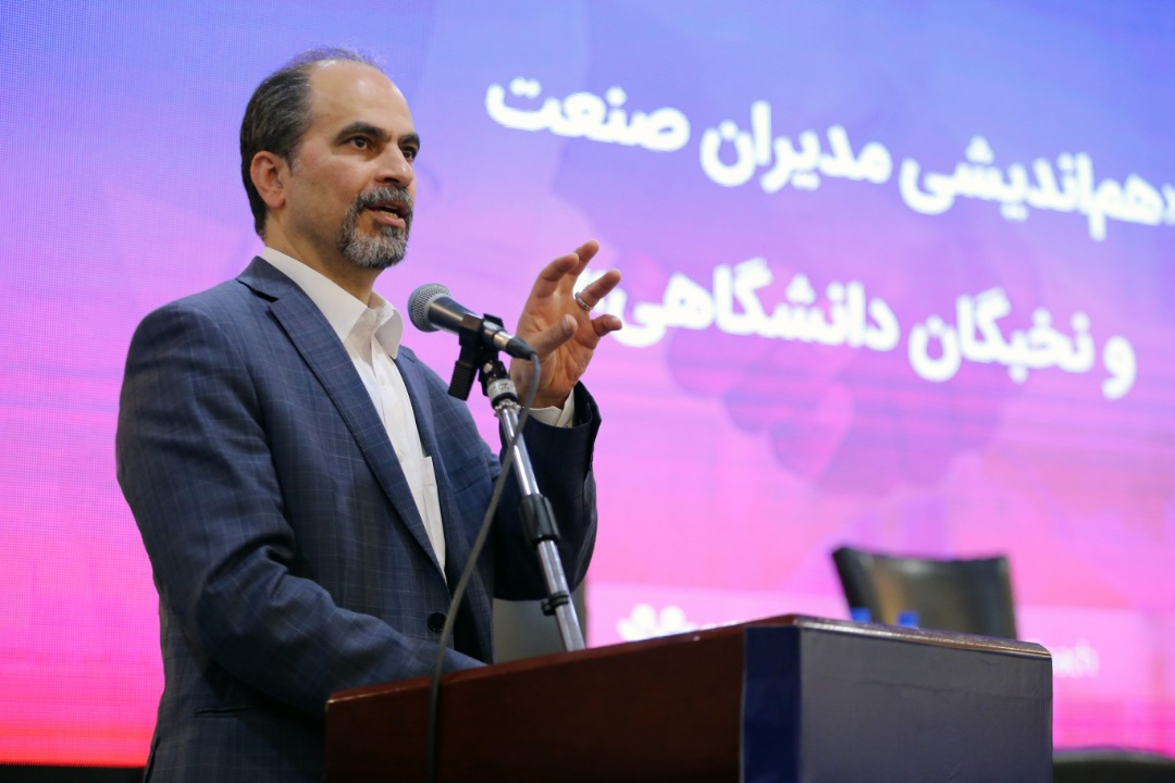 دکتر محمودرضا هاشمی در هماندیشی مدیران صنعت و نخبگان دانشگاهی